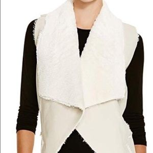 Blank NYC faux leather vest